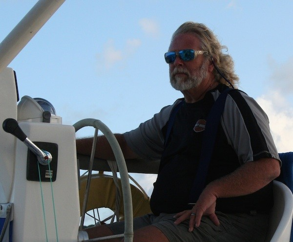 On the water with Captain Frank