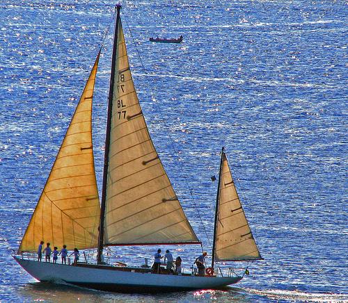 Sailing: building a boat