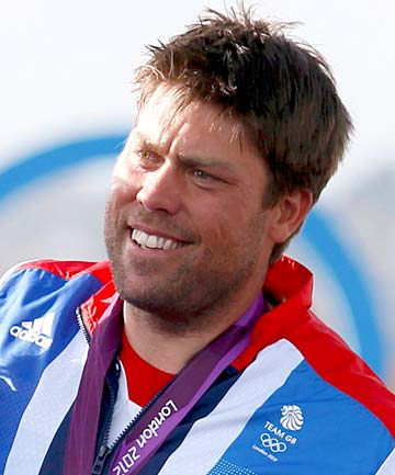 A photo of Andrew Simpson, the gold medalist sailor