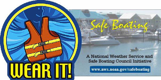 National Safe Boating Week logo
