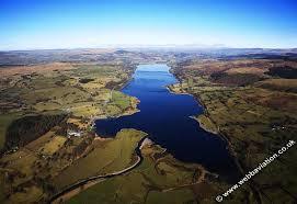 birds eye view of bala lake