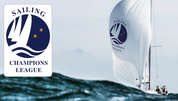 The sailing champions league logo