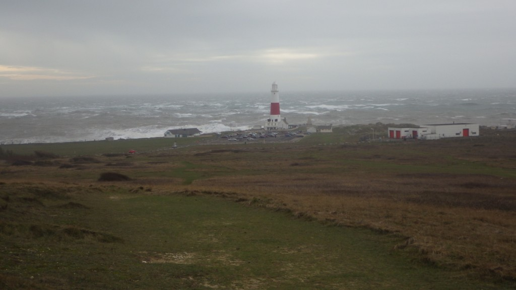 A bit windy at Portland Bill...